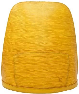 Louis Vuitton Yellow Epi Leather Gobelins