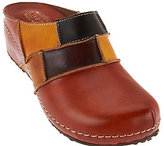 Spring Step L'Artiste Painted Leather Clog -Ridgeview-B