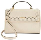 Calvin Klein Cash Saffiano Leather Satchel