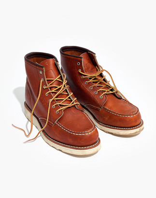 Madewell Red Wing 6-Inch Moc Lace-Up Boots