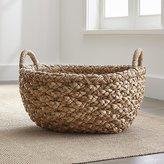 Crate & Barrel Emlyn Oval Basket