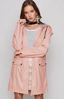 MinkPink Rain Mac Pink