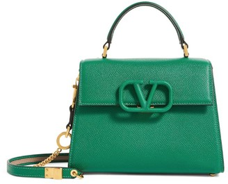 Valentino Garavani Small Vsling Top-Handle Bag