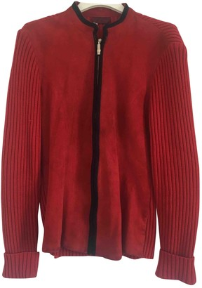 Versus Red Suede Knitwear for Women Vintage