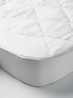 John Lewis & Partners Micro-Fresh Easy Care Waterproof Crib Mattress Protector