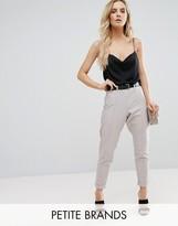 Boohoo Petite Tailored Cropped Pants