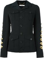 Givenchy military jacket - women - Viscose/Wool - 36