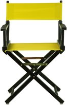 Casual Home Director Chair Black Frame, Canvas