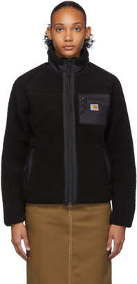 Carhartt Work In Progress Black Prentis Liner Jacket