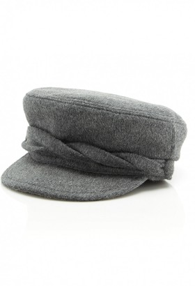 Maison Michel Grey Wool Hats