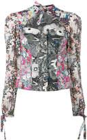 Olympia Le-Tan Liberty print blouse