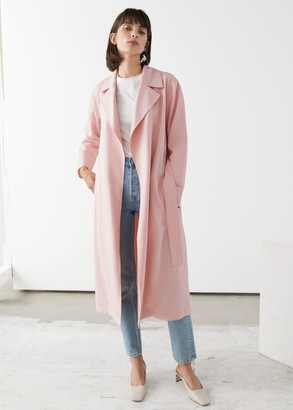 And other stories Soft Belted Trench Coat