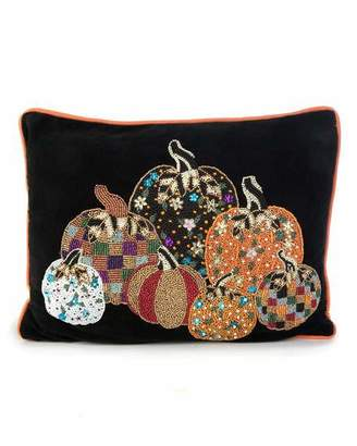 Mackenzie Childs Pumpkin Party Pillow
