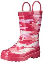 Western Chief Pink Camo Rain Boot (Toddler/Little Kid/Big Kid)