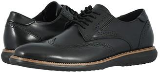 Dockers Verdi (Black Polished Full Grain) Men's Shoes