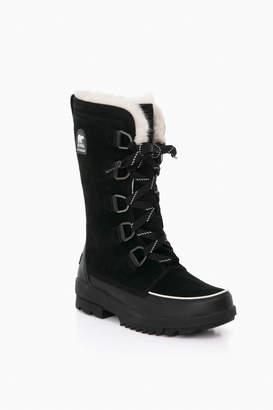 Sorel Black Tivoli IV Tall Boots