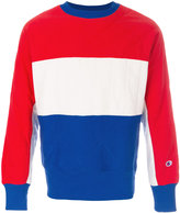 Champion colour block sweatshirt