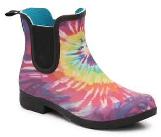 Chooka Eastlake Tie Dye Rain Boot