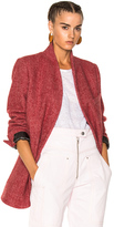 Isabel Marant Elis Jacket in Red.