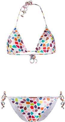 Missoni Mare Halter Neck Bikini Set