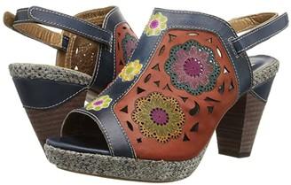 Spring Step L'Artiste by Belen (Navy) Women's Sandals