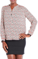Zadig & Voltaire Tinay Print Coeur Woven Blouse