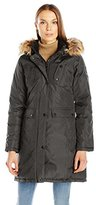 Madden-Girl Women's Multi Pocket Insulated Coat