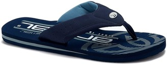 Animal Jekyl Logo Too Flip Flops - Indigo Blue