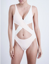 Solid & Striped The Poppy Wrap swimsuit