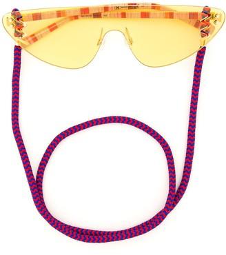 Missoni Eyewear Rimless Tinted Sunglasses