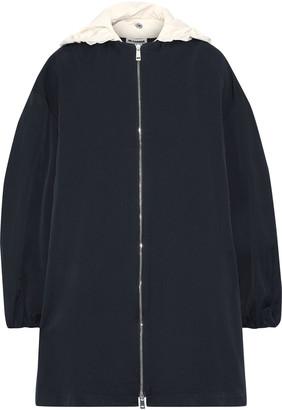 Jil Sander Twill Hooded Jacket