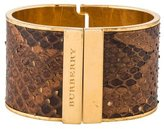 Burberry Painted Python Cuff Bracelet