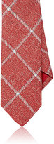 Barneys New York MEN'S PLAID WOOL-BLEND NECKTIE