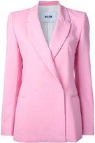 MSGM concealed fastened blazer