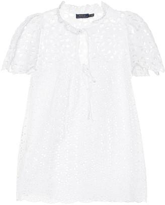 Polo Ralph Lauren Cotton-lace shirt