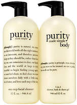 philosophy Purity Made Simple Super-Size Headto Toe Duo