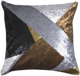Jonathan Adler Nico Metallic Fractal Pillow - Metallic