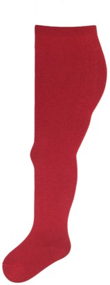 JollyRascals Baby Girls Christmas Tights Cotton Xmas Santa or Pudding Knitted Tights Age 0 6 12 18 24 Months