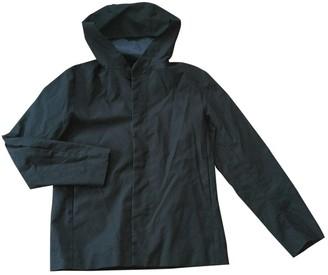 Cos Blue Cotton Jacket for Women