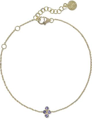 Amrapali Tarakini 18-karat Gold Tanzanite Bracelet
