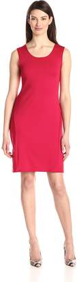 Star Vixen Women's Classic Sleeveless Sheath Dress