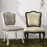 Upholstered Outdoor Chair-Coffee