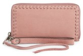 Rebecca Minkoff Women's Vanity Leather Phone Wallet - Pink