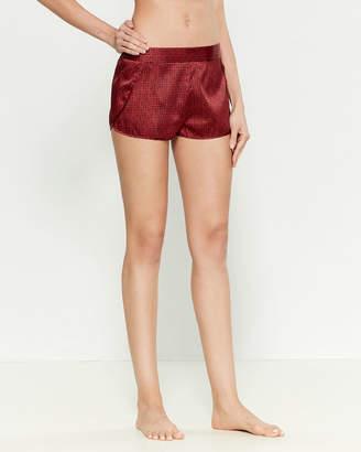 Stella McCartney Ellie Leaping Silk-Blend Pajama Shorts