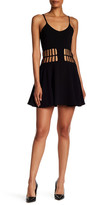 Dress the Population Heather Cutout Skater Dress