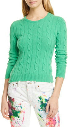 Polo Ralph Lauren Cable Wool & Cashmere Sweater