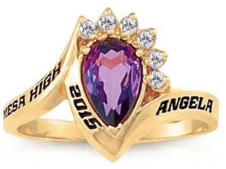 Keepsake Girl's Princess Fashion Class Ring