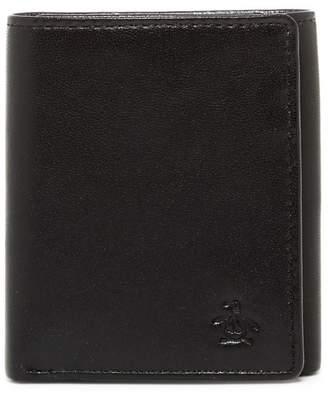 Original Penguin Gramercy Slim Tri-Fold Wallet