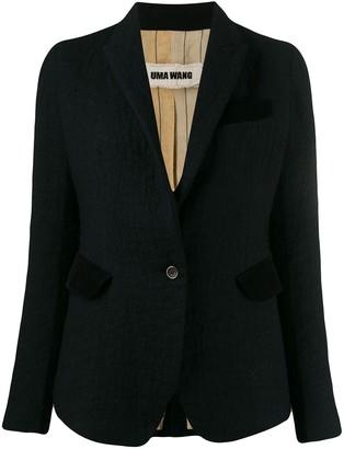 UMA WANG Slim-Fit Blazer