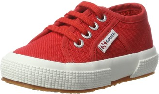 Superga Unisex Kids 2750 Jcot Classic Slippers Red (Red-White) 26 EU 8.5 UK